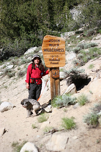 Another look at Timber and Wookie in the John Muir Wilderness.
