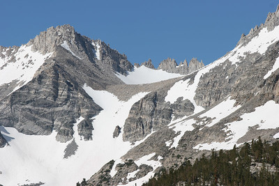 A view of the mountains.
