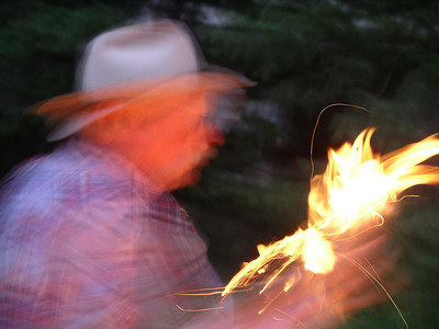 Fire Starting with a wooden Bow Drill, demonstration by the legendary Jack Hooker of WTR Outfitters of Ovando, Montana.
