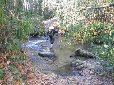 Chattooga River Trail to Foothills Trail 12/25/13