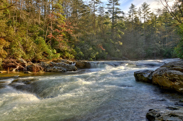 Foothills Trail - Ellicott Rock / Chattooga River 12/2013
