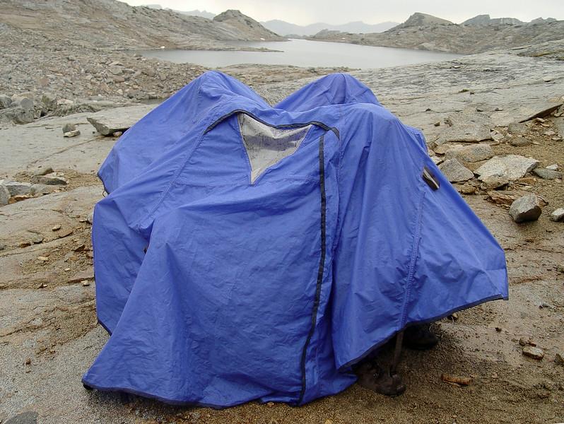Six under one tarp