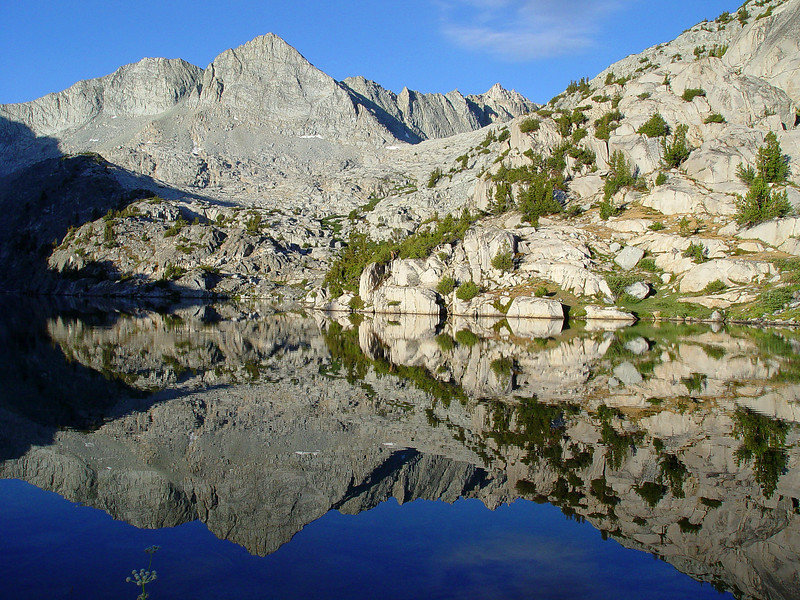 Morning in Sixty Lakes Basin