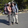 2012-08-26<br /> Just starting out at Many Glaciers on our 8 days, 7 nights backpacking trip in Glacier National Park