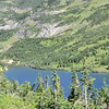 Stoney Indian Lake from Stoney Indian Pass