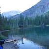 Moose approaching us at Mokowanis Lake