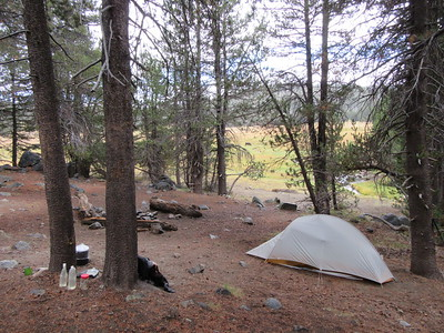 ... Casa Vieja Meadows (8,310') in the Inyo National Forest and Golden Trout Wilderness where, during the next round of showers, I made camp for two nights near ...