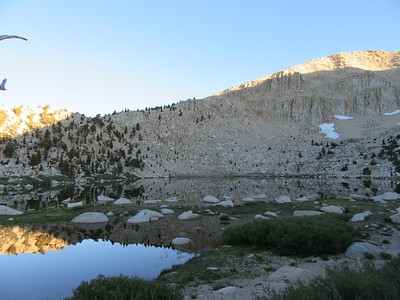 As I headed to the trailhead on my final morning there, I could not resist more photos of Chicken Spring Lake with ...