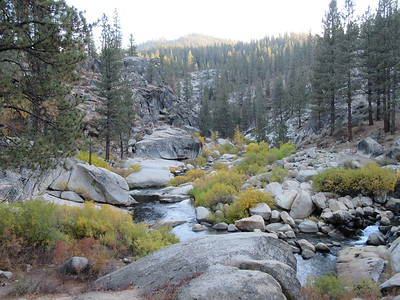 ... the Little Kern River, here looking very little because of the five year drought.