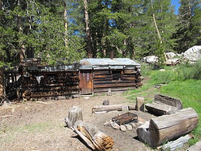 ... Mulkey Cow Camp (9,600').