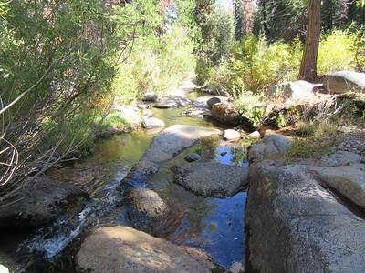 I crossed Clicks Creek, ...