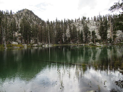 ... middle Maggie Lake, and then while hiking back down to camp ...