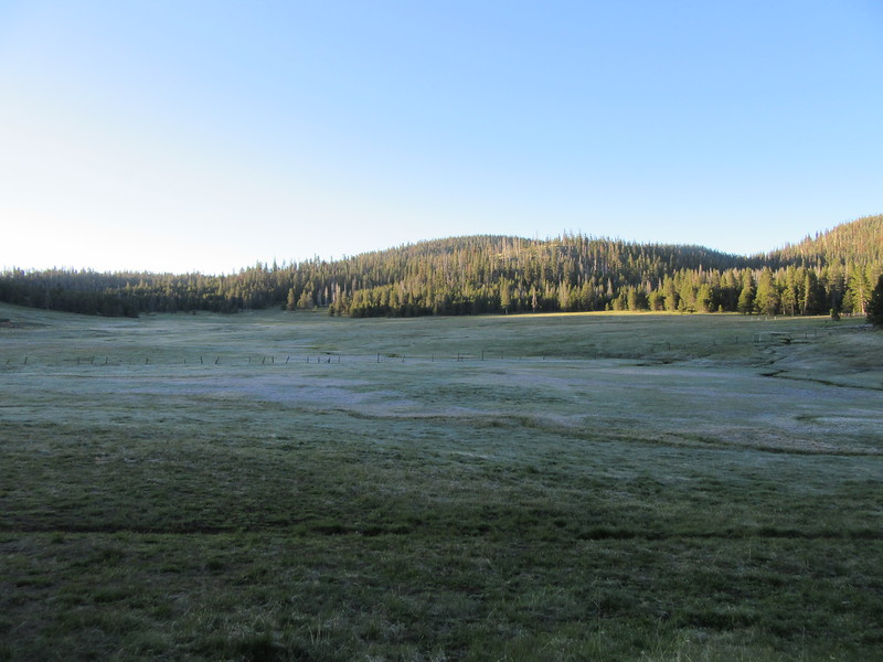 The sun rose over Casa Vieja Meadows the next morning and I headed ...