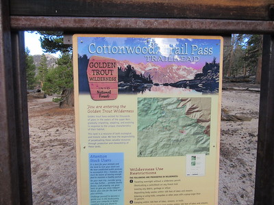 I started from the trailhead at Horseshoe Meadow (9,960') and headed up to ...