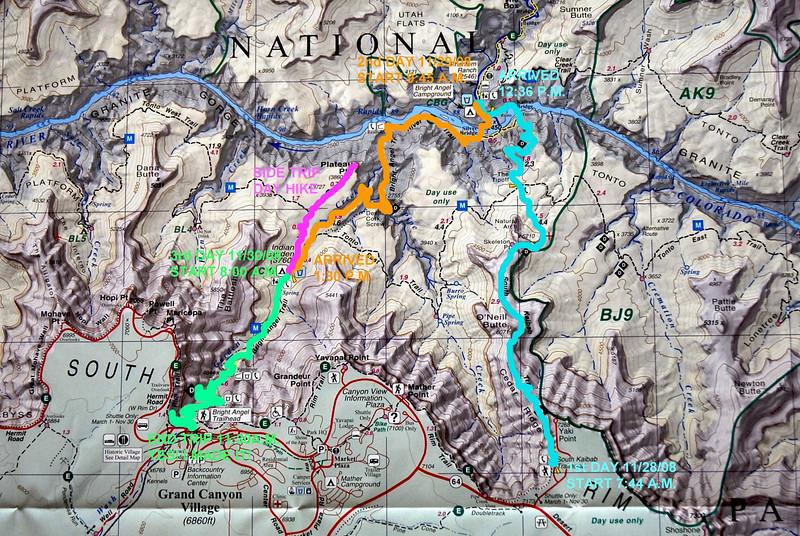 Grand Canyon Thanksgiving Weekend Nov Justdropin - Grand canyon campground map