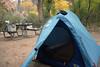 ...set up my tent..