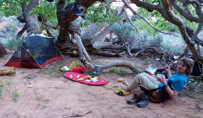 Night 3 at Sheik's Canyon was our best camping place.