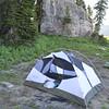 Camp at Death Canyon Shelf