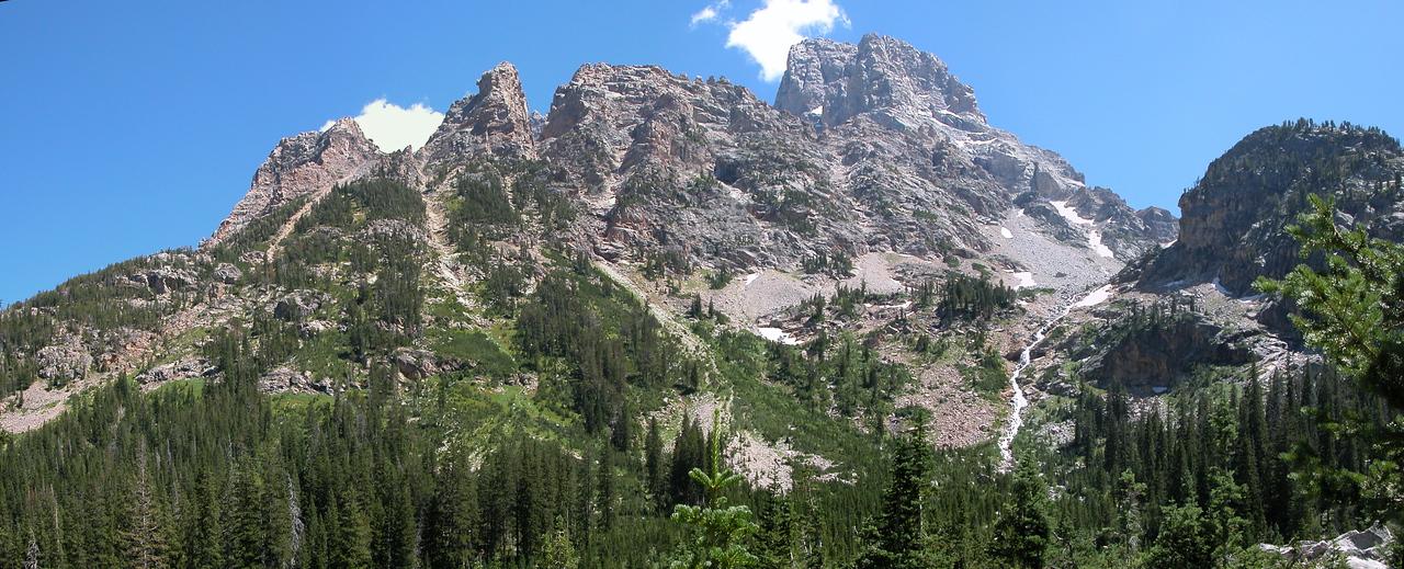 Mt Owen from Cascade Canyon