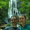 2014-05-22<br /> Us in front of Mingo Falls