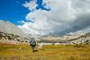 ...hiking through meadows