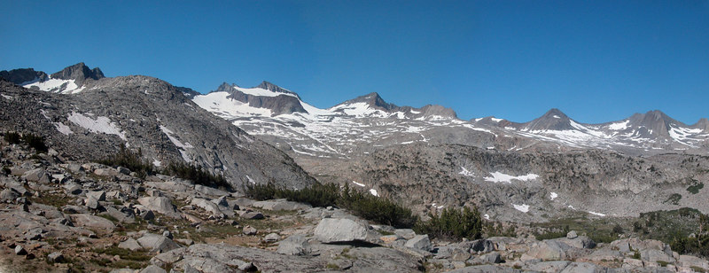 View from Donahue Pass.