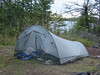The Henry-Shires Cloudburst Tarptent I used on this trip.