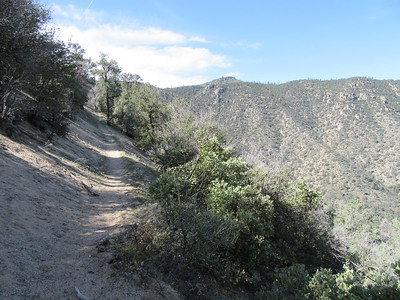 ... continued climbing up into the Scodie Mountains.