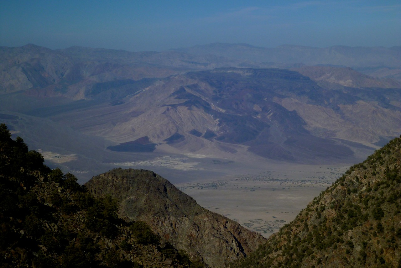 Day 4- View of Saline Valley from near Keynot Mine.