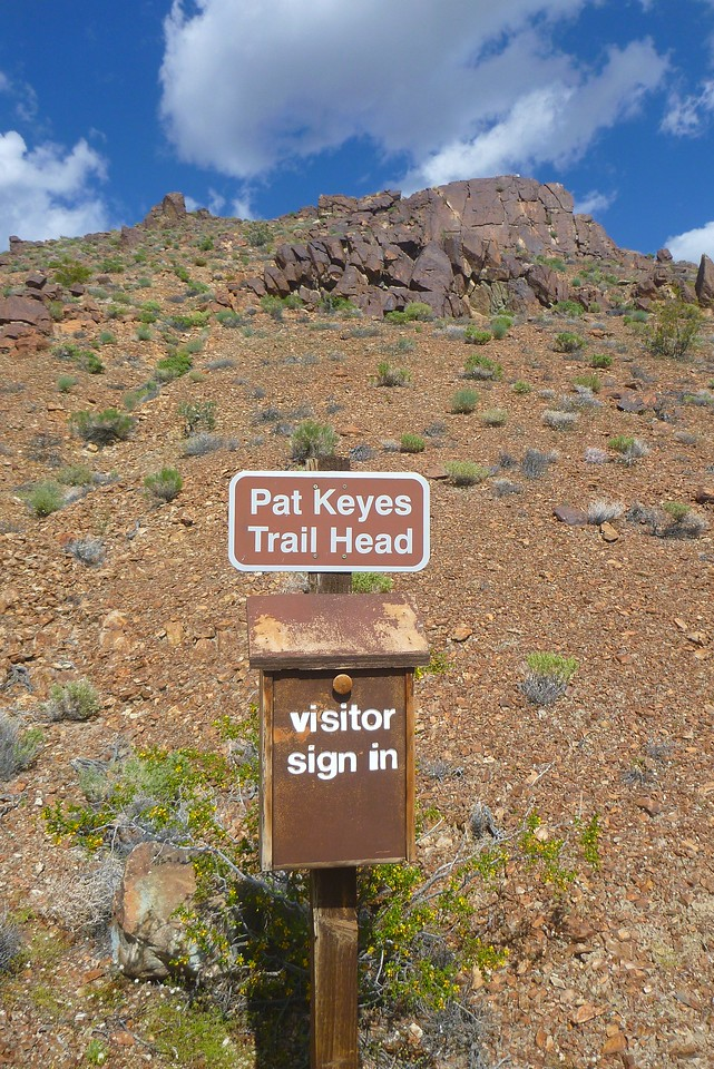 Day 1- Pat Keyes TH is a short drive from Hwy 395. The turn off is near the Manzanar National Historic Site.