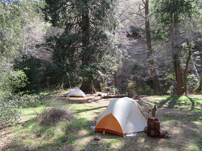 ... we camped for two nights, ...