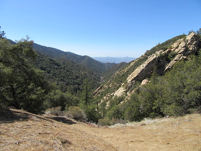 ... a view over Beartrap Creek and its canyon, which we then headed back down into.