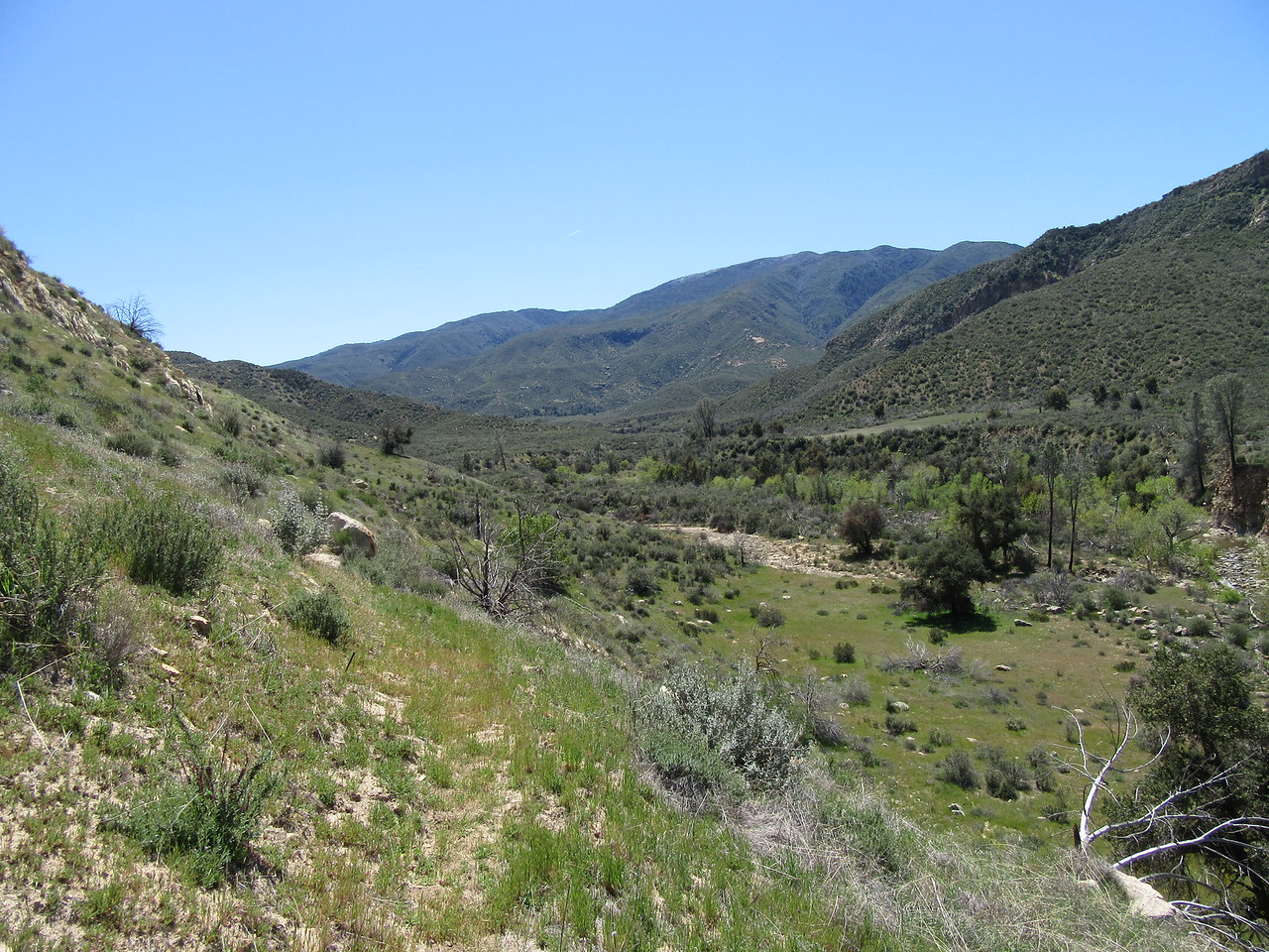 ... the South Fork area soon coming into view, but ...