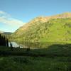 Looking back at Geneva lake
