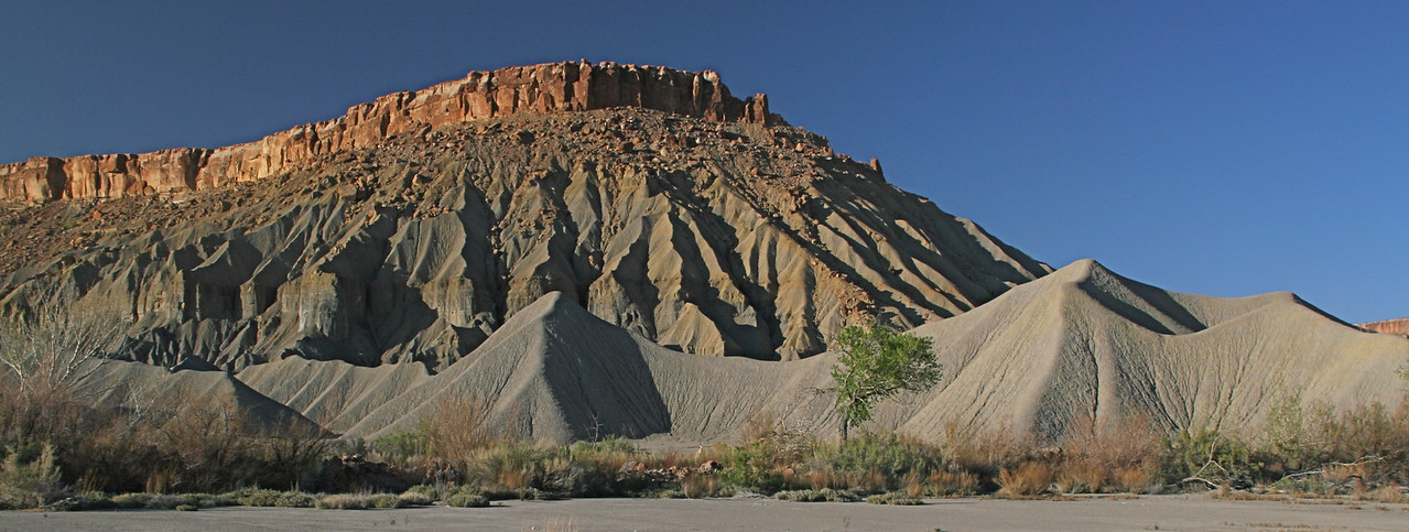 Buttes west of Hanksville, Utah.