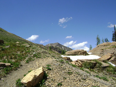 Whewww the top of the pass.