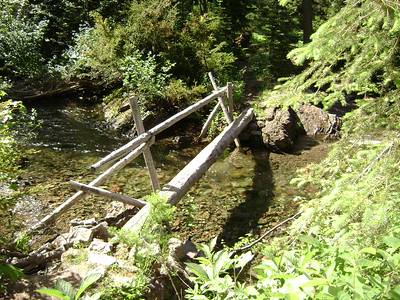 These bridges are great, but I also love soaking hot tired feet in the cold water!