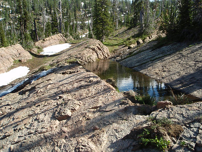 These little Run-Off ponds were everywhere with really cool waterfalls coming out of them.