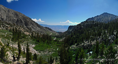 Onion Valley to Mt. Whitney - July 2010