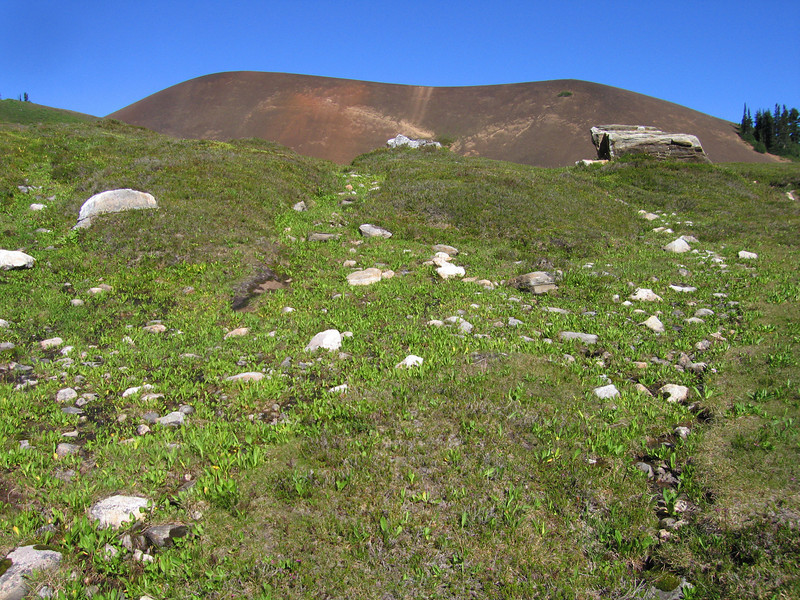 Day 9: White Chuck Cinder Cone (a volcano).