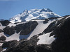 Day 8: Glacier Peak was in a constant view throughout the day.