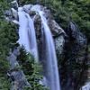 Basin Creek falls, viewable just outside our campsite