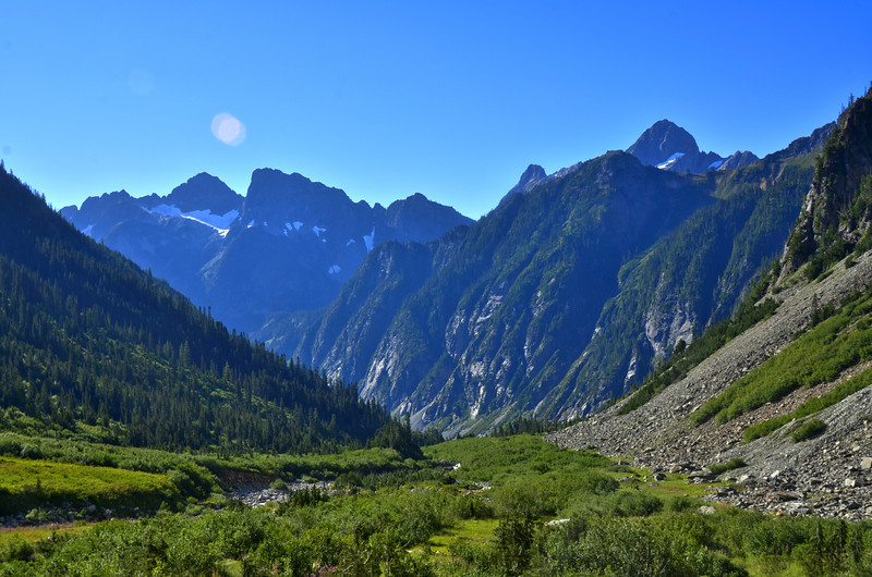 The North Cascades<br /> Stehekin Valley