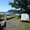 This was our campsite at Cape Alava