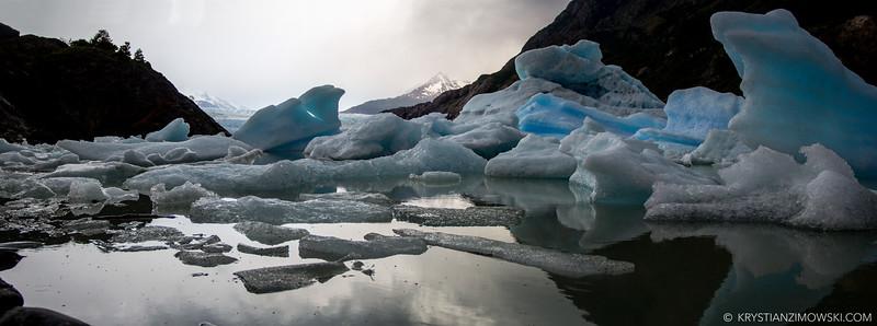 Remnants of Glacier Grey