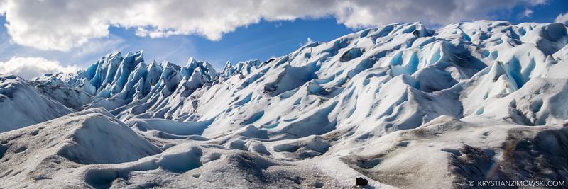 Ice Mountains of Perito Moreno