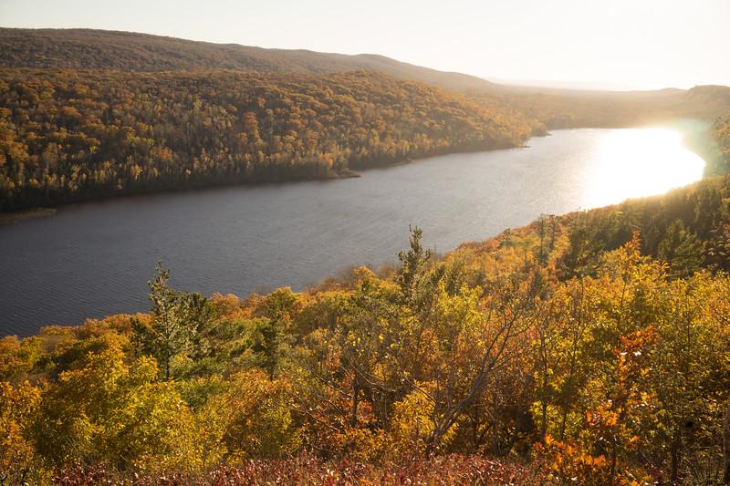 Beautiful fall color light show.