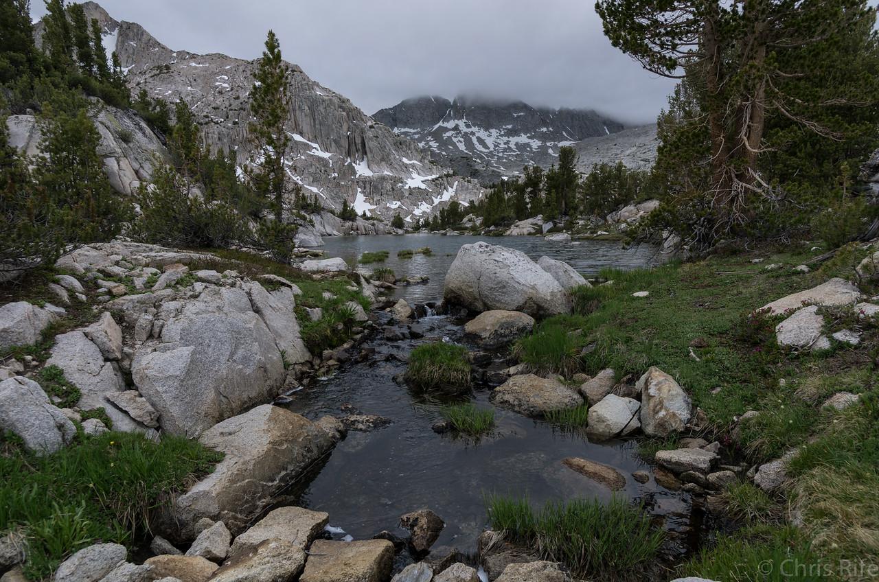 In the basin