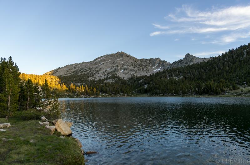 Charlotte Lake sunset