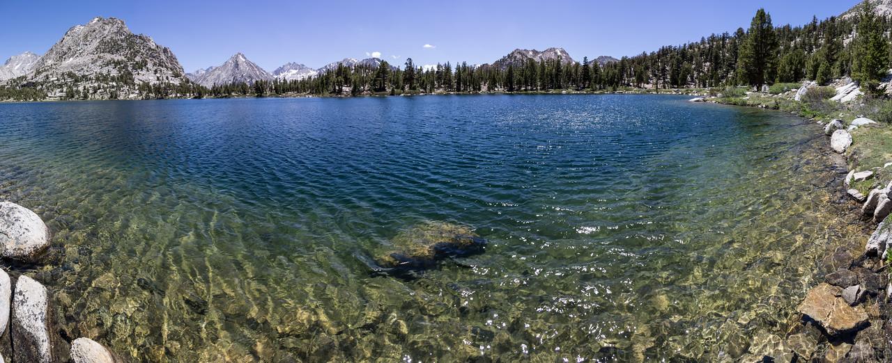 Bullfrog Lake panorama